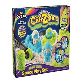 CRA-Z-Art Crazsand spel Glow In The Dark Playset