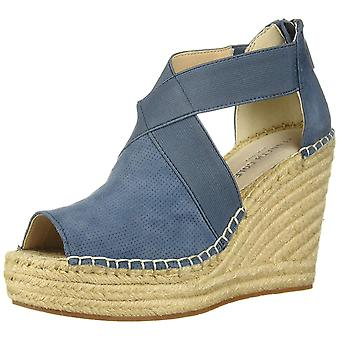 Kenneth Cole New York Women's Olivia 2 Perf Stretch Espadrille Wedge Sandal, ...