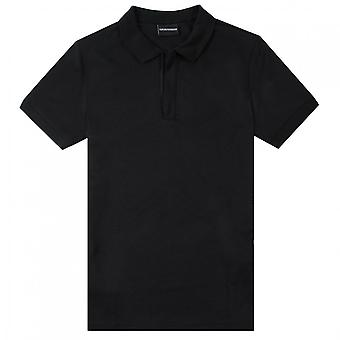 Emporio Armani Empioro Armani Zip Neck Polo