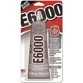 E 6000 Adhesive 2 Ounces Black 237039