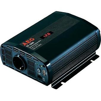 Inverter AEG ST 500 500 W 12 Vdc Iincl. remote control Screw terminals PG socket, USB port