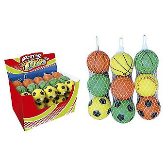 Sport One 3 Soft Balls 75 Mm. (Kids , Toys , Outdoors , Balls)