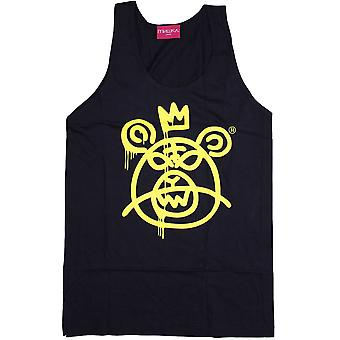 Mishka ours Mop Tank Top marine jaune