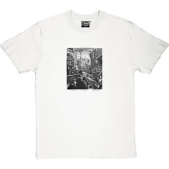 William Hogarth's Gin Lane mäns T-Shirt