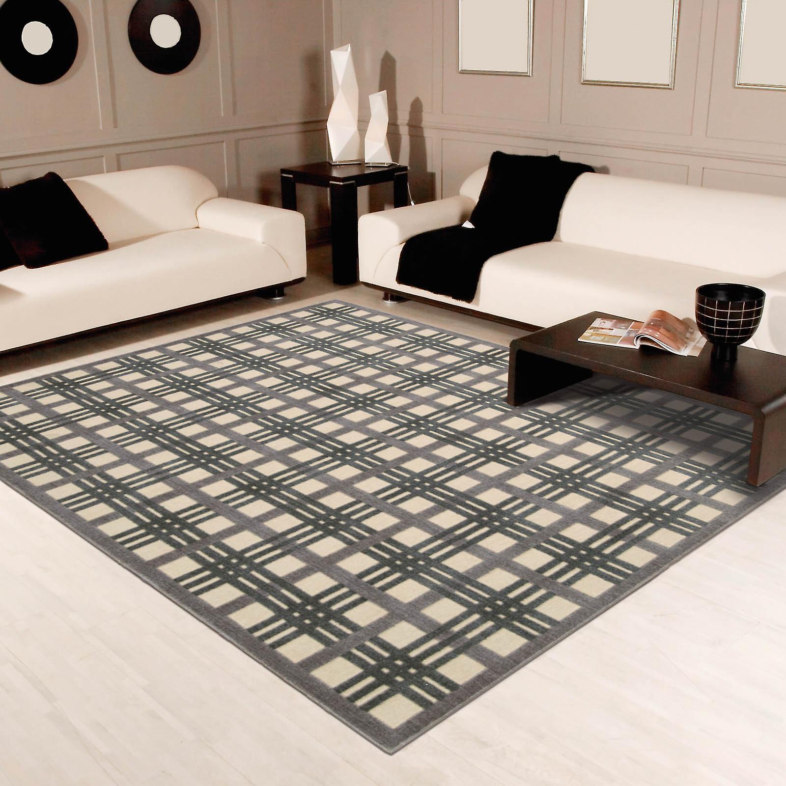 Grafico illusioni tappeti Gil20 avorio tortora di Nourison