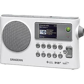 Internet Portable radio Sangean WFR-28C AUX, DAB+, Internet radio, FM, USB DLNA-compatible White