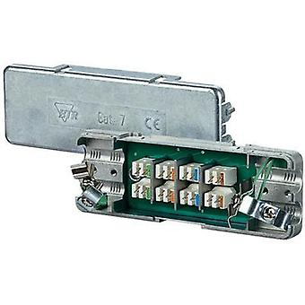 Distributor box flexible: - rigid: 0.128-0.325 mm² Number of pins: 8 Metz Connect 130863-E 1 pc(s) Silver