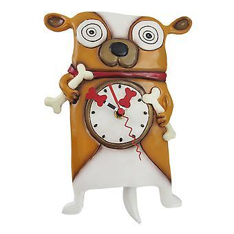 شنت الين التصاميم روفوس الجدار الكلب ساعة البندول