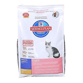 Hill's Science Plan Feline Mature Adult Light With Chicken 5kg