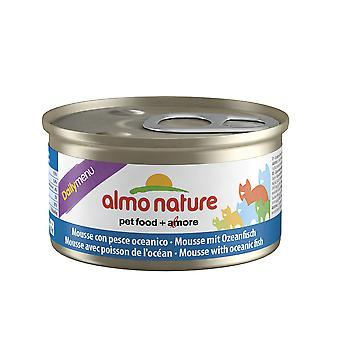 Almo Nature Daily Menu Cat Mousse With Oceanic Fish 85g (Pack of 24)