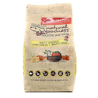 Goodwyns voksen komplet kylling brune ris & grøntsager 12kg