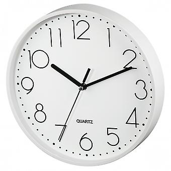 HAMA wall clock-quiet running PG 220 White