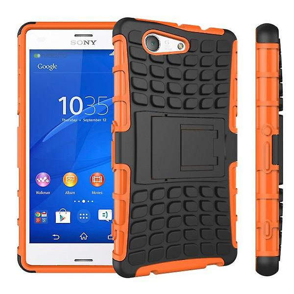 Hybrid Case 2teilig Robot Orange for Sony Xperia Z3 Compact D5803 M55W
