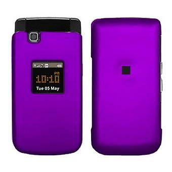 Evercell Samsung MyShot II R460 Snap-On Case - Purple