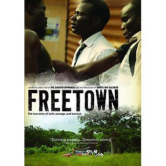 Freetown [BLU-RAY] USA importerer