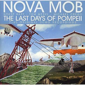 Nova Mob - sidste dage af Pompeji [CD] USA importerer