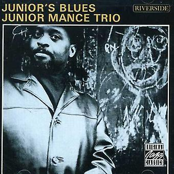 Junior Mance - Junior's Blues [CD] USA import