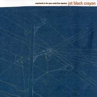 Jet sort oliekridt - eksperimenter i rummet Metal taktangivelse [CD] USA importen