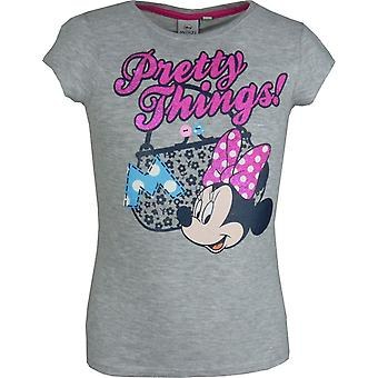 Girls Disney Minnie Mouse – Short Sleeve T-Shirt