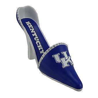 NCAA University of Kentucky UK High Heel Schuh Weinflasche Halter