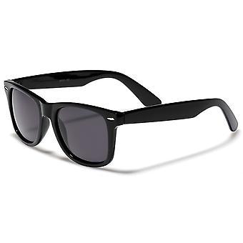 Retrouv® Designer klassiska Horn kantad av 80-talet Retro solglasögon – UV400