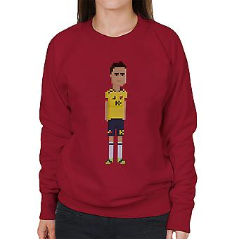 Pixel James Rodriguez Women's Sweatshirt