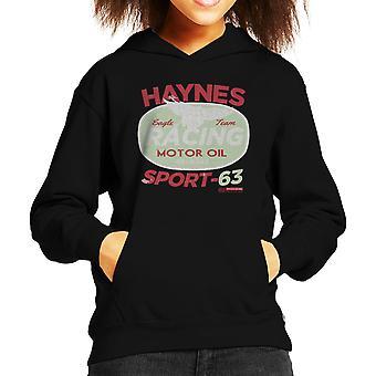 Haynes-Eagle-Team Racing Motorenöl Kinder Sweatshirt mit Kapuze