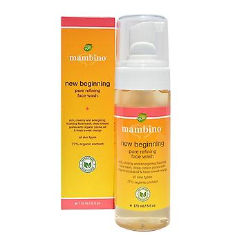Mambino Organics New Beginnings Pore Refining Face Wash