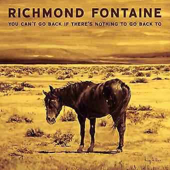 Richmond Fontaine - du kan ikke gå tilbage hvis der er noget at gå tilbage [CD] USA import