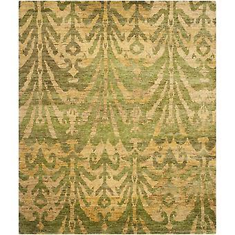 Tanta grøn & guld Damask tæppe - Safavieh