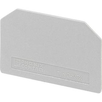 Phoenix Contact 3101029 D-MTK End Cover Grey 1 pc(s)