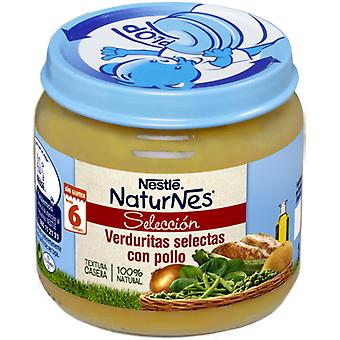 Nestlé Selected Vegetables W. Chicken 340 gr  (Jeugd , Voederen , Potito)