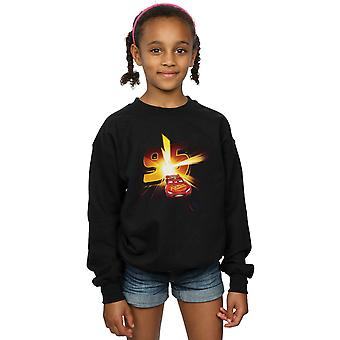Disney Girls Cars Lightning McQueen Burst Sweatshirt