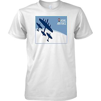 Royal Airforce Lancaster Spitfire og Hurricane - Kids T Shirt