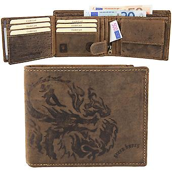Greenburry Vintage Dragon Leder Geldbörse D-1796-25