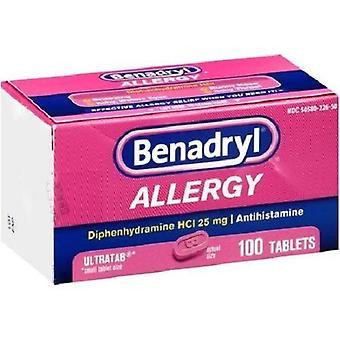 抗ヒスタミン剤: アレルギー救済 Ultratabs 100 カウント
