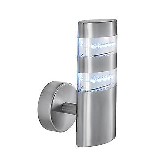 Searchlight 5308 Chrome LED Outdoor Wall Light   IP44
