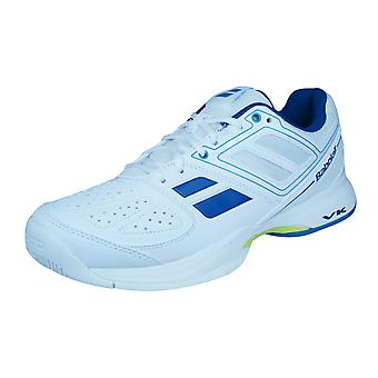 Babolat Pulsion BPM todo corte Mens tenis zapatillas zapatos - blanco