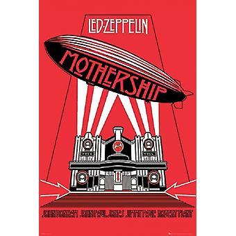 Led Zeppelin - Mothership Poster Poster Print