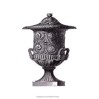 Black & White Urn I (SC) Poster Print by Vision studio (13 x 19)