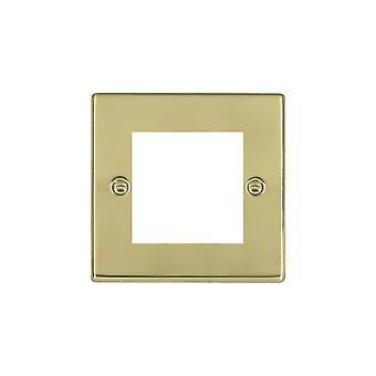 Hamilton Litestat Hartland Polished Brass 2 Euro Apert 50X50+Grid