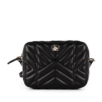 Lanvin women's BGRPS4NAPAA1610 black leather shoulder bag