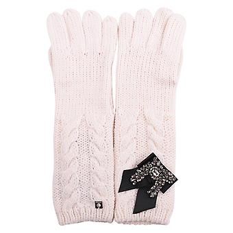 Twin-set ladies AA7P4200889 pink plastic gloves