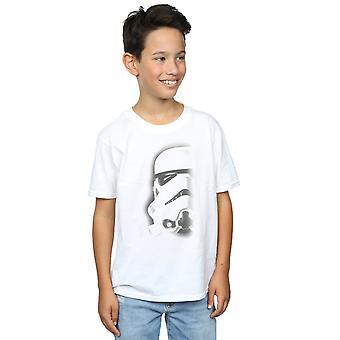 Star Wars Boys Stormtrooper Face T-Shirt