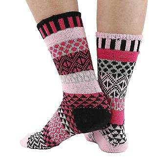 Venus recycled cotton multicolour odd-socks | Crafted by Solmate