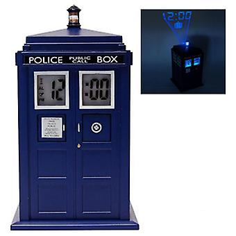 Doctor Who Tardis projektion vækkeur