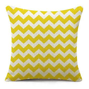 Wellindal Cushion Cover Old Ziga  Yellow (Decoration , Textile , Cushions , Cushions)