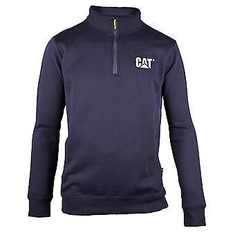 Caterpillar Mens C1910004 Canyon Quarter Zip Sweatshirt