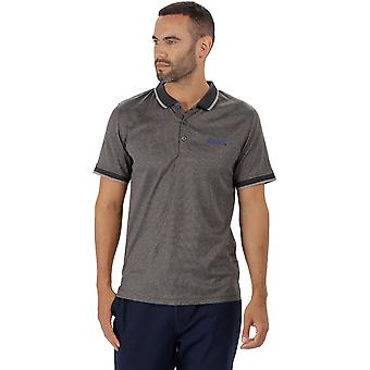 Regatta Mens Remex Quick Dry Polyester Marl Casual Polo Shirt
