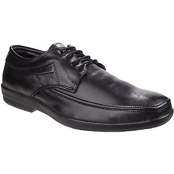 Fleet & Foster Mens Dave Apron Toe Lace Up Oxford Comfy Formal Shoes